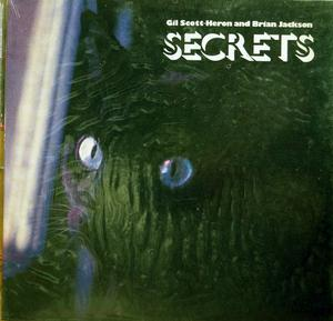 Album  Cover Gil Scott Heron - Secrets on ARISTA Records from 1978