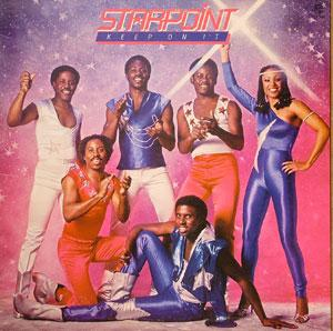 Album  Cover Starpoint - Keep On It on CHOCOLATE CITY Records from 1981