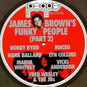 Album  Cover James Brown - People on POLYDOR Records from 1980