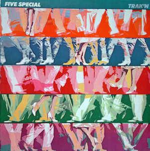Album  Cover Five Special - Trak'n on ELEKTRA Records from 1981
