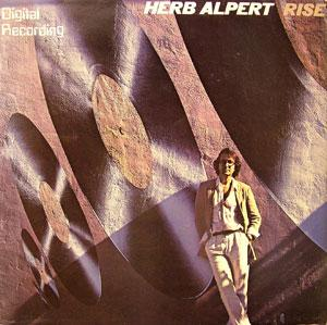 Album  Cover Herb Alpert - Rise on A&M Records from 1979