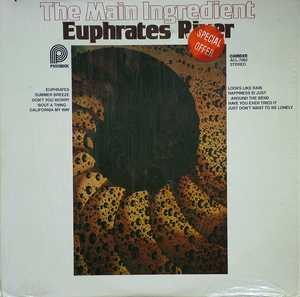 Album  Cover The Main Ingredient - Euphrates River on PICKWICK Records from 1978