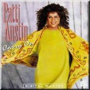 Album  Cover Patti Austin - Carry On on GRP Records from 1991