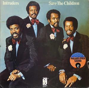 Front Cover Album The Intruders - Save The Children