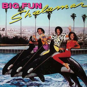 Album  Cover Shalamar - Big Fun on SOLAR Records from 1979