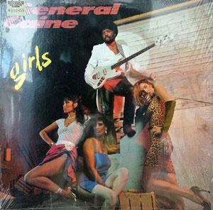 Album  Cover General Caine - Girls on TABU Records from 1982