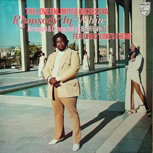 Album  Cover The Love Unlimited Orchestra - Rhapsody In White on 20TH CENTURY Records from 1974