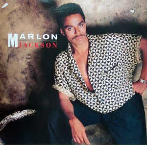 Front Cover Album Marlon Jackson - Baby Tonight