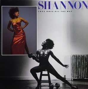 Album  Cover Shannon - Love Goes All The Way on ATLANTIC Records from 1986