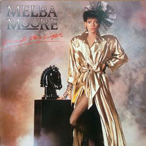 Album  Cover Melba Moore - Read My Lips on CAPITOL Records from 1985