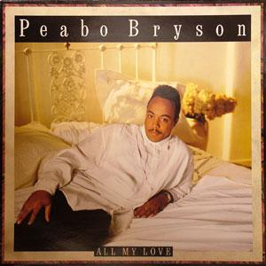 Album  Cover Peabo Bryson - All My Love on CAPITOL Records from 1989