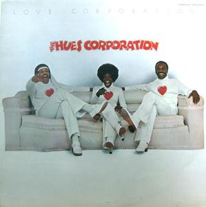 Front Cover Album The Hues Corporation - Love Corporation