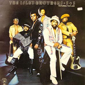 Album  Cover The Isley Brothers - 3+3 on T_NECK Records from 1973