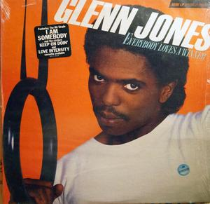Album  Cover Glenn Jones - Everybody Loves A Winner on RCA Records from 1983
