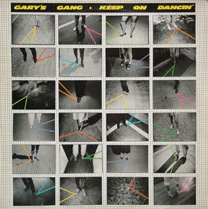 Front Cover Album Gary's Gang - Keep On Dancin'