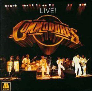 Album  Cover Commodores - Commodores Live! on MOTOWN Records from 1977