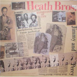 Album  Cover The Heath Brothers - Expressions Of Life on ANTILLES Records from 1980