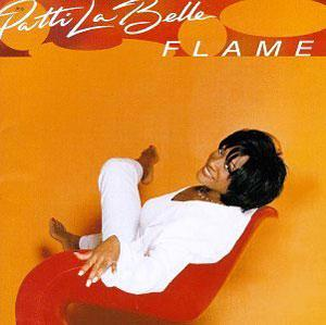 Album  Cover Patti Labelle - Flame on MCA Records from 1997