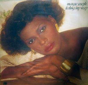 Front Cover Album Margie Joseph - Feeling My Way