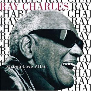 Album  Cover Ray Charles - Strong Love Affair on QWEST Records from 1996