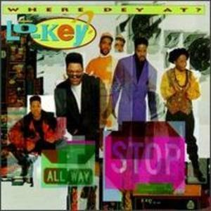 Album  Cover Lo-key - Where Dey At? on PERSPECTIVE Records from 1992