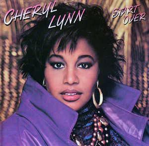 Album  Cover Cheryl Lynn - Start Over on MANHATTAN Records from 1987