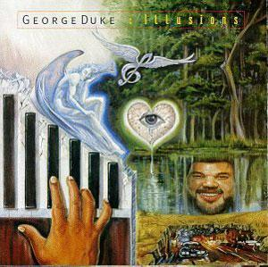 Album  Cover George Duke - Illusions on WARNER BROS. Records from 1995