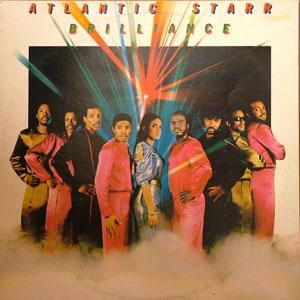 Front Cover Album Atlantic Starr - Brilliance