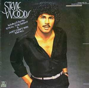 Front Cover Album Stevie Woods - Take Me To Your Heaven