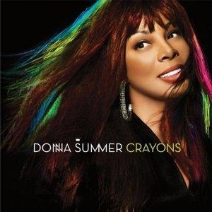 Album  Cover Donna Summer - Crayons on BURGUNDY S Records from 2008