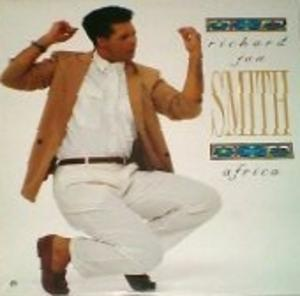 Album  Cover Richard Jon Smith - Africa on ATTIC Records from 1988