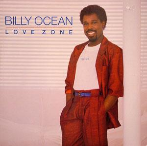 Album  Cover Billy Ocean - Love Zone on JIVE Records from 1986