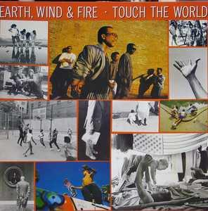 Album  Cover Wind & Fire Earth - Touch The World on CBS Records from 1987