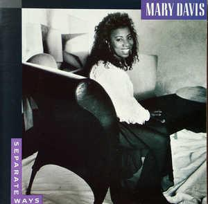 Album  Cover Mary Davis - Separate Ways on TABU Records from 1990