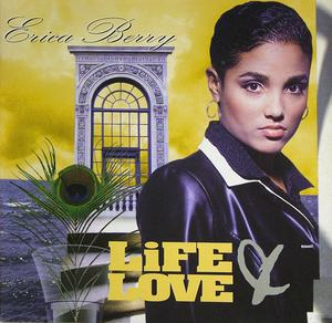 Front Cover Album Erica Berry - Life & Love