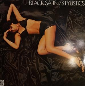 Front Cover Album The Stylistics - Black Satin