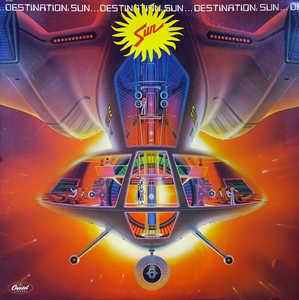 Album  Cover Sun - Destination: Sun on CAPITOL Records from 1979