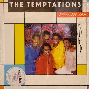 Front Cover Album The Temptations - Touch Me