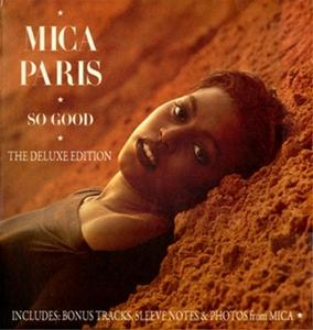 Album  Cover Mica Paris - So Good on ISLAND Records from 1988