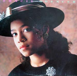 Album  Cover Tracie Spencer - Tracie Spencer on CAPITOL Records from 1988
