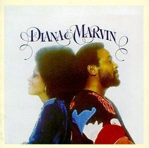 Album  Cover Diana Ross - Diana And Marvin on MOTOWN Records from 1973