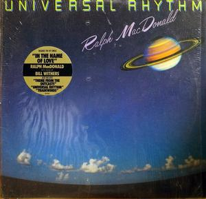 Album  Cover Ralph Macdonald - Universal Rhythm on POLYDOR Records from 1984