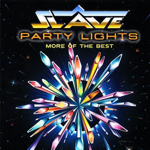 Front Cover Album Slave - Party Lights - More Of The Best (CD Stone Jam)