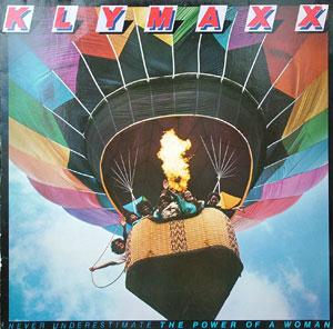 Front Cover Album Klymaxx - Never Underestimate The Power Of A Woman