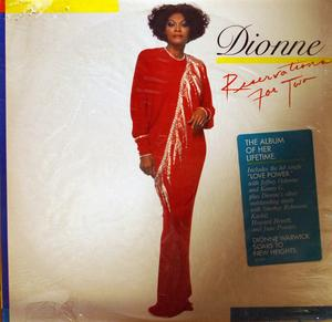 Front Cover Album Dionne Warwick - Reservations For Two