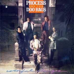 Album  Cover Process And The Doo Rags - Colorful Changes on COLUMBIA (CBS) Records from 1987