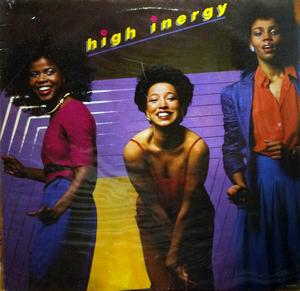 Album  Cover High Inergy - High Inergy on GORDY Records from 1981