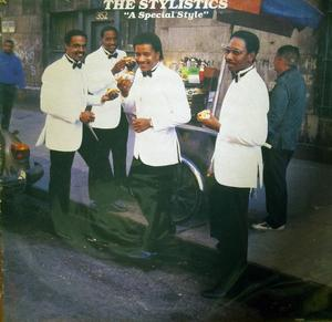 Album  Cover The Stylistics - A Special Style on STREETWISE Records from 1985