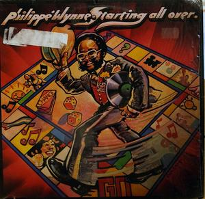 Album  Cover Philippe Wynne - Starting All Over on COTILLION (ATLANTIC RECORDING) Records from 1977