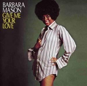 Front Cover Album Barbara Mason - Give Me Your Love